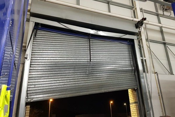 Bad example Commercial Roller Shutters