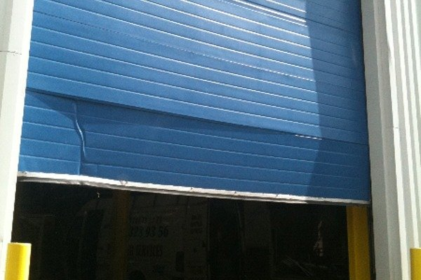 Bad Commercial Roller Shutters